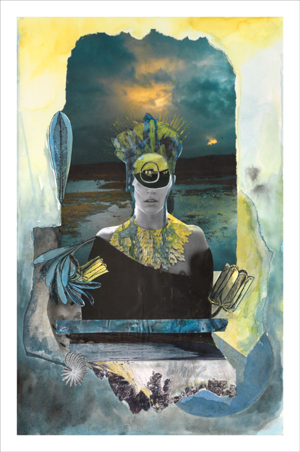 Dominique Hazell - The All-Seeing I Print